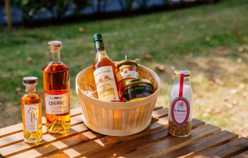 Panier de produits locaux Sud Charente